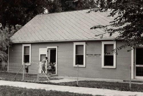 Preschool Laboratory At 401 W Laurel In July 1936